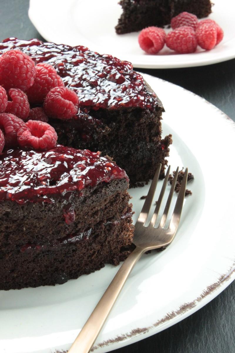 Glutenvrije chocoladetaart_3