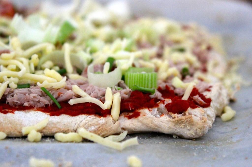 Glutenvrije pizzabodem