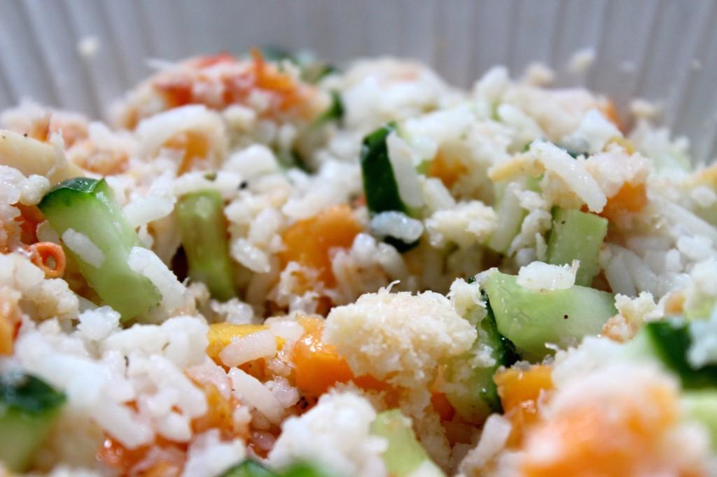 Rijstpapier met papaja