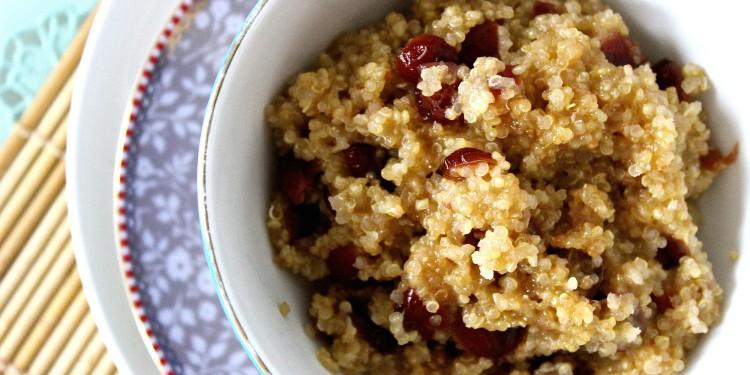 quinoa bij het ontbijt