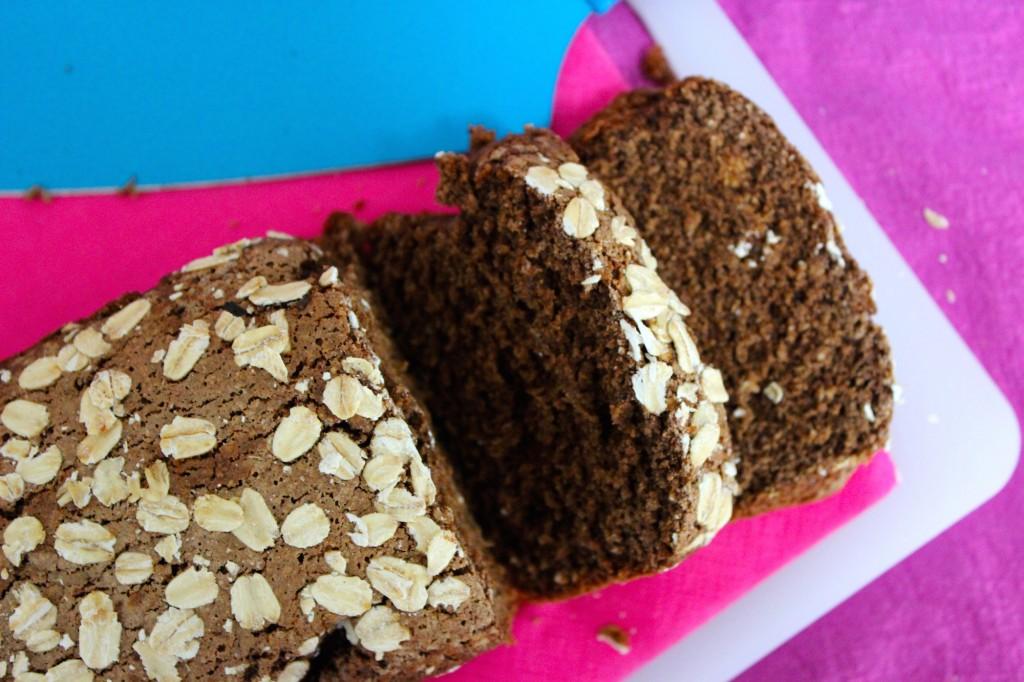 Gluten- en lactosevrije ontbijtkoek