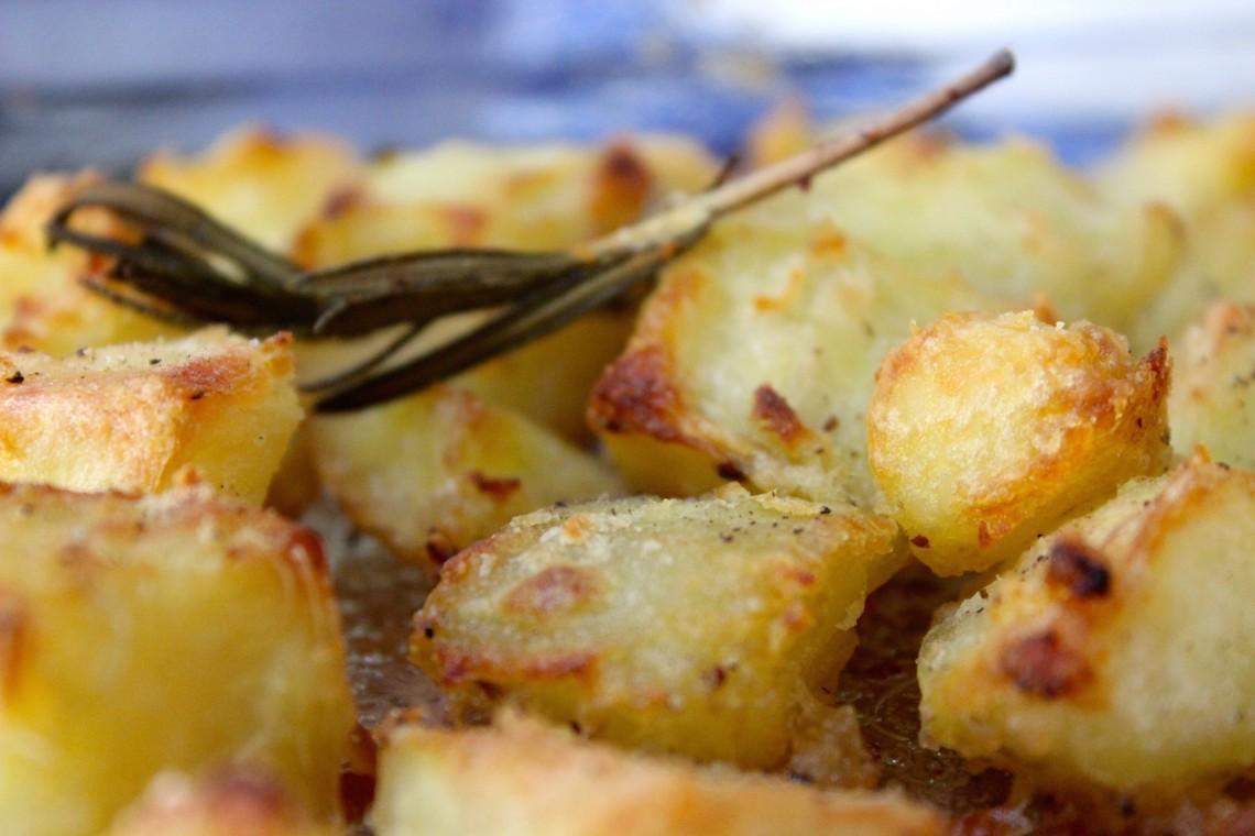 Engelse roasted potatoes