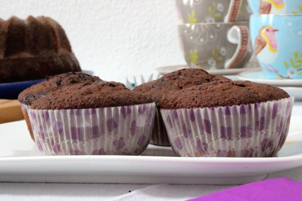 Glutenvrije chocoladecupcakes