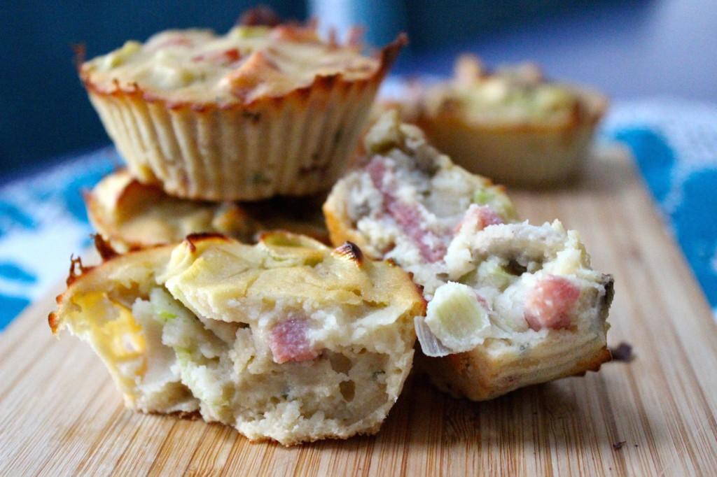 Glutenvrije aardappelcupcake