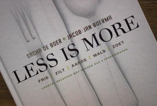 Less is More Sacha de boer