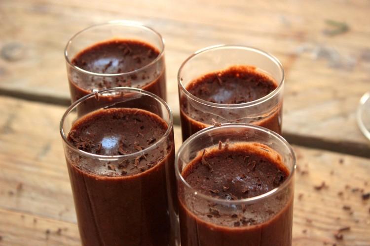 melkvrije chocolademousse