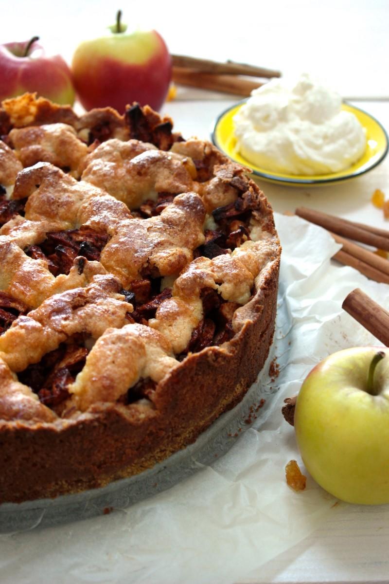 Glutenvrije appeltaart_
