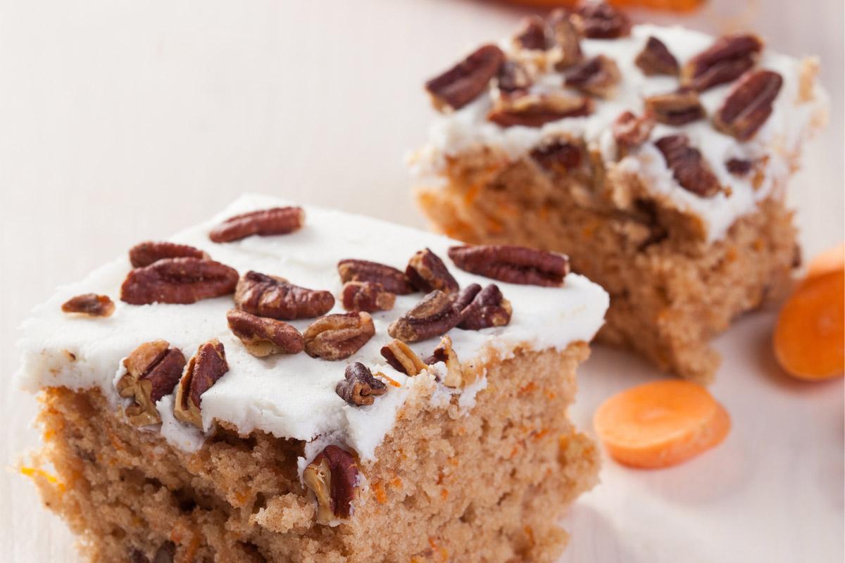 Glutenvrije carrot cake